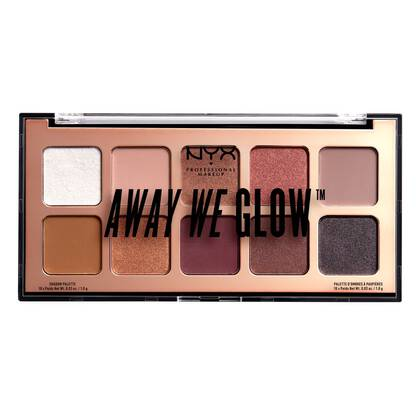 Away We Glow Shadow Palette